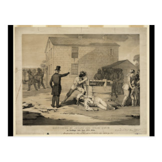 Martyrdom of Joseph & Hiram Smith in Carthage Jail Postcard
