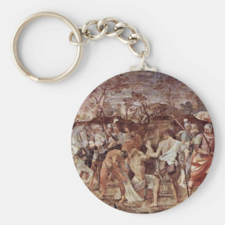 Martyrdom Of St. Andrew Keychain