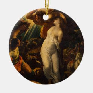 'Martyrdom of St. Catherine' Ceramic Ornament