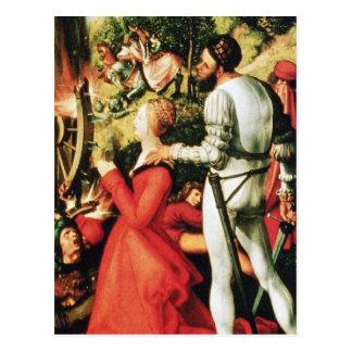 Martyrdom of St. Catherine Postcard