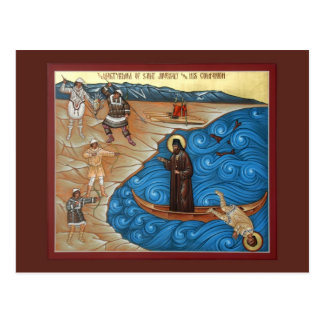 Martyrdom of St. Juvenaly Prayer Card