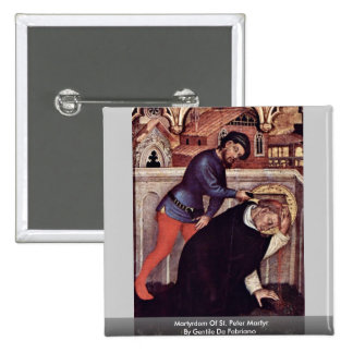 Martyrdom Of St Peter Martyr Button