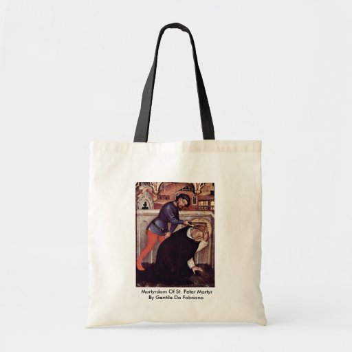 Martyrdom Of St. Peter Martyr Bags