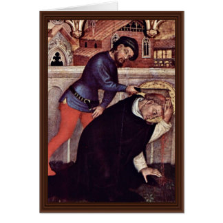 Martyrdom Of St. Peter Martyr Greeting Cards
