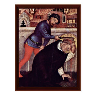 Martyrdom Of St. Peter Martyr Postcards