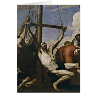 Martyrdom Of St. Philip By Jusepe De Ribera Greeting Card