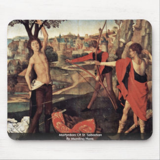 Martyrdom Of St. Sebastian By Memling Hans Mouse Pad