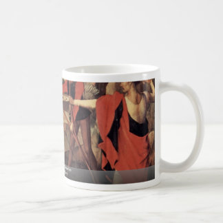 Martyrdom Of St. Sebastian By Memling Hans Mug