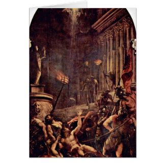 Martyrdom Of St. Vavrinec By Titian Cards