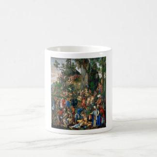 Martyrdom of the Ten Thousand by Albrecht Dürer Basic White Mug