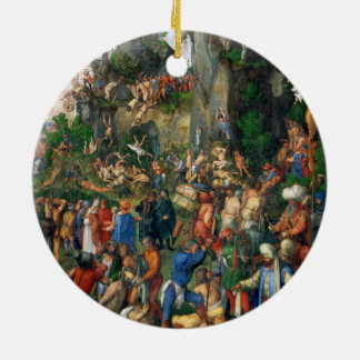 Martyrdom of the Ten Thousand by Albrecht Dürer Christmas Tree Ornaments