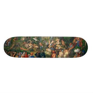 Martyrdom of the Ten Thousand by Albrecht Dürer 19.7 Cm Skateboard Deck