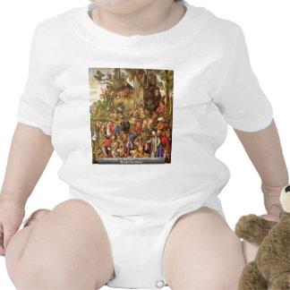 Martyrdom Of The Ten Thousand Christians Baby Bodysuit