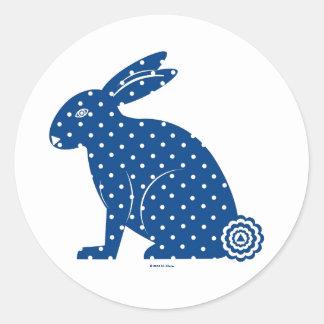 Martzkin Easter Bunny Stickers © 2012 M. Martz