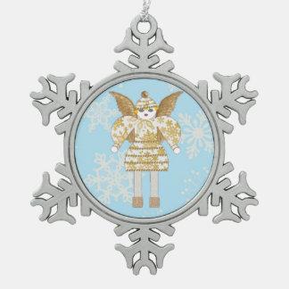 Martzkin Snow Angel Snowflake Ornament