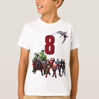 Marvel Avengers Birthday T-Shirt