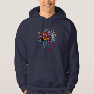 Marvel Comics Hero Group Hoodie