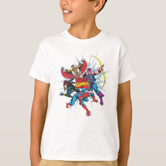 Marvel Comics Hero Group T-Shirt