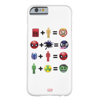 Marvel Emoji Character Equations Barely There iPhone 6 Case