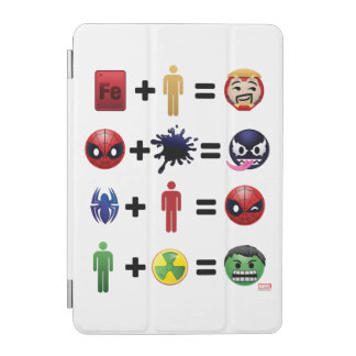 Marvel Emoji Character Equations iPad Mini Cover