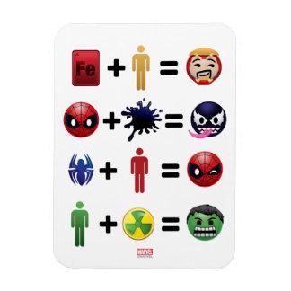Marvel Emoji Character Equations Magnet