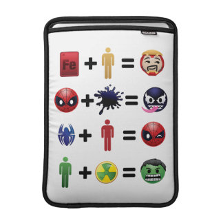 Marvel Emoji Character Equations Sleeve For MacBook Air