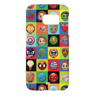 Marvel Emoji Characters Grid Pattern