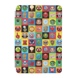 Marvel Emoji Characters Grid Pattern iPad Mini Cover