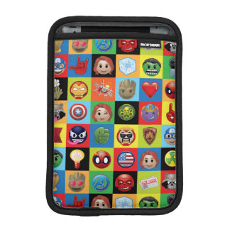 Marvel Emoji Characters Grid Pattern iPad Mini Sleeve