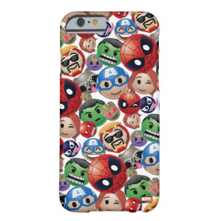 Marvel Emoji Characters Toss Pattern Barely There iPhone 6 Case
