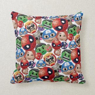 Marvel Emoji Characters Toss Pattern Cushion
