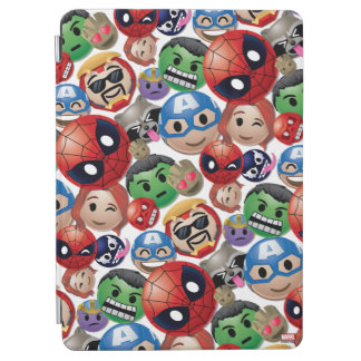 Marvel Emoji Characters Toss Pattern iPad Air Cover