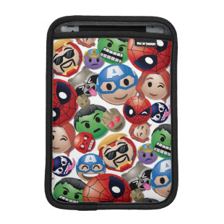 Marvel Emoji Characters Toss Pattern iPad Mini Sleeve