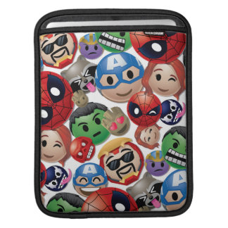 Marvel Emoji Characters Toss Pattern iPad Sleeve