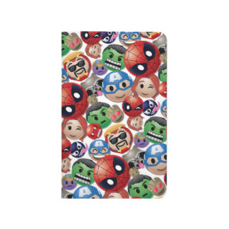 Marvel Emoji Characters Toss Pattern Journals