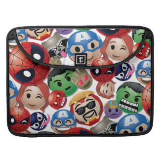 Marvel Emoji Characters Toss Pattern Sleeve For MacBooks