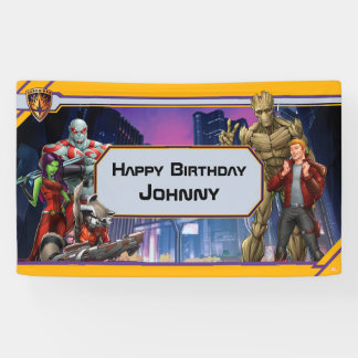 Marvel | Guardians of the Galaxy - Birthday Banner