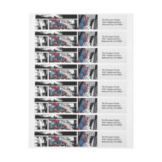 Marvel | Spiderman - Birthday Wrap Around Label