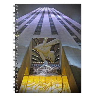 Marvellous Manhattan Spiral Notebook