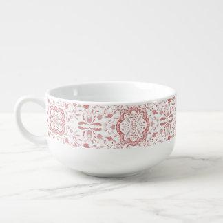 Marvellous Watercolour Soup Mug - Vintage Red