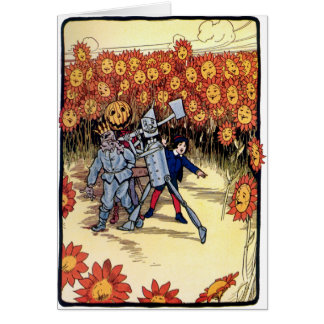 Marvelous Land of Oz Card