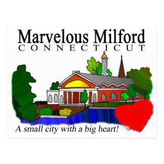 Marvelous Milford City Hall Postcard