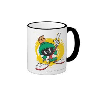 Marvin Pointing Upward Coffee Mugs