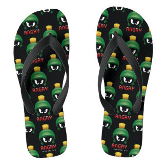 MARVIN THE MARTIAN™ Angry Emoji Thongs
