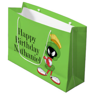 MARVIN THE MARTIAN™ | Arms Crossed Large Gift Bag