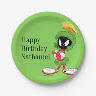 MARVIN THE MARTIAN™ | Arms Crossed Paper Plate