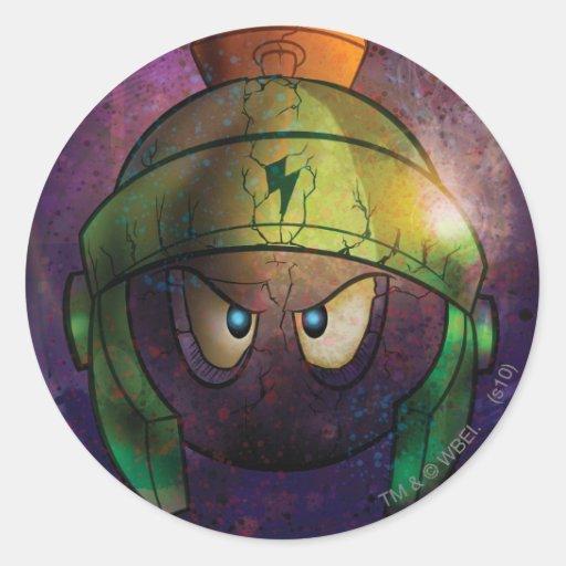 Marvin the Martian Battle Hardened Sticker
