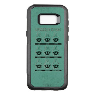 MARVIN THE MARTIAN™ Current Mood Chart OtterBox Commuter Samsung Galaxy S8+ Case