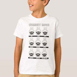 MARVIN THE MARTIAN™ Current Mood Chart T-Shirt