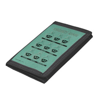 MARVIN THE MARTIAN™ Current Mood Chart Tri-fold Wallets